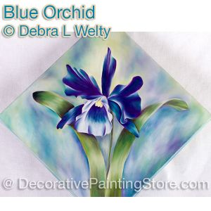 Blue Orchid e-Pattern - Debra Welty - PDF DOWNLOAD
