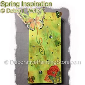 Spring Inspiration e-Pattern - Debra Welty - PDF DOWNLOAD