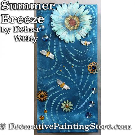 Summer Breeze e-Pattern - Debra Welty - PDF DOWNLOAD
