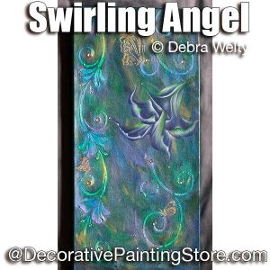 Swirling Angel e-Pattern - Debra Welty - PDF DOWNLOAD