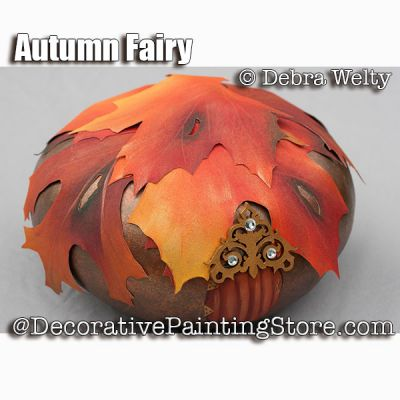 Autumn Fairy e-Pattern - Debra Welty - PDF DOWNLOAD