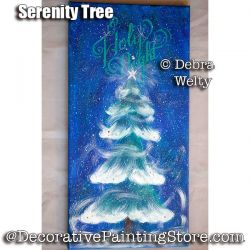 Serenity Tree e-Pattern - Debra Welty - PDF DOWNLOAD
