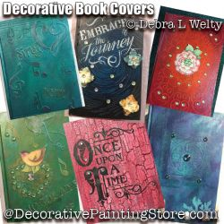 Decorative Book Covers e-Pattern - Debra Welty - PDF DOWNLOAD