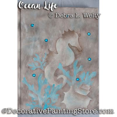 Ocean Life e-Pattern - Debra Welty - PDF DOWNLOAD