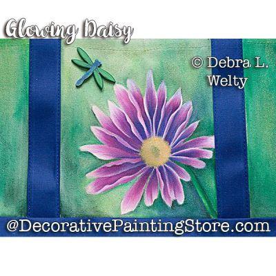 Glowing Daisy 2 e-Pattern - Debra Welty - PDF DOWNLOAD
