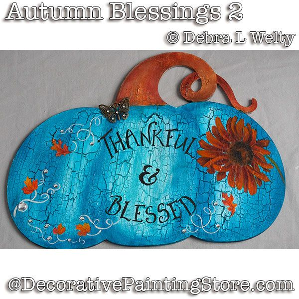 Autumn Blessings 2 e-Pattern - Debra Welty - PDF DOWNLOAD