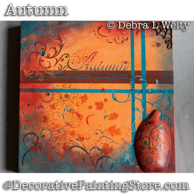 Autumn e-Pattern - Debra Welty - PDF DOWNLOAD