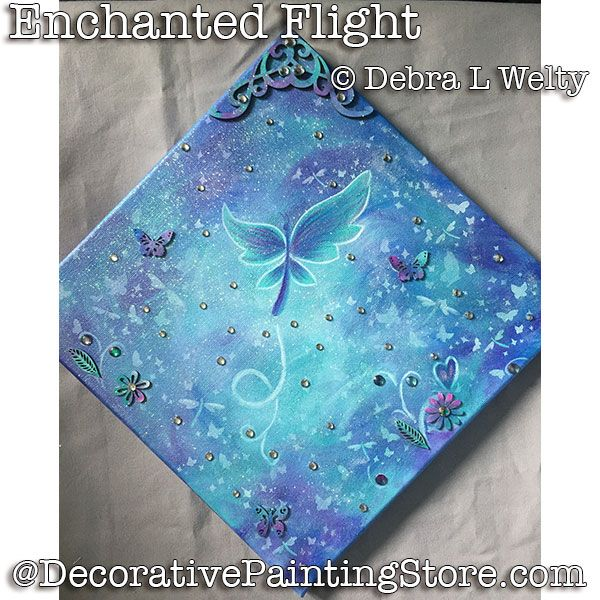 Enchanted Flight e-Pattern - Debra Welty - PDF DOWNLOAD