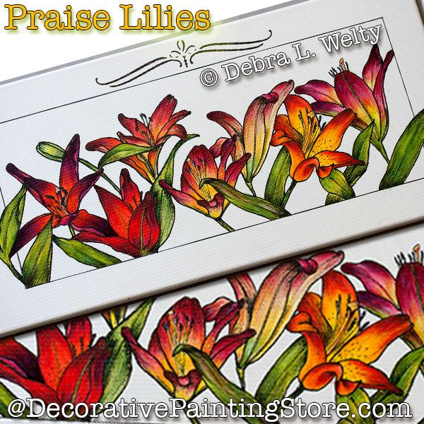 Praise Lilies PDF DOWNLOAD - Debra Welty