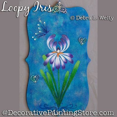 Loopy Iris DOWNLOAD - Debra Welty