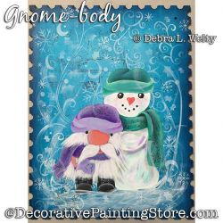 Gnome Body Painting Pattern PDF DOWNLOAD - Debra Welty