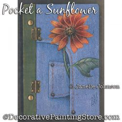 Pocket a Sunflower DVD and Pattern by Janelle Johnson
