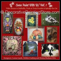 Come Paint With Us Vol. 1 eBook by Debbie Cushing, Donna Hodson, Lonna Lamb