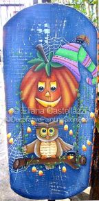 Halloween Holiday Pattern - Eliana Castellazzi - PDF DOWNLOAD
