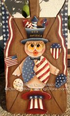 Old America Pattern by Eliana Castellazzi - PDF DOWNLOAD