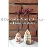 Spoon Christmas Ornaments ePattern - Eliana Castellazzi - PDF DOWNLOAD