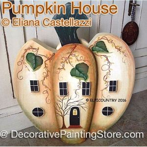 Pumpkin House ePattern - Eliana Castellazzi - PDF DOWNLOAD