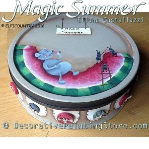 Magic Summer ePattern - Eliana Castellazzi - PDF DOWNLOAD