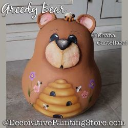 Greedy Bear Gourd ePattern - Eliana Castellazzi - PDF DOWNLOAD