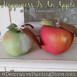 Happiness Is an Apple Gourd ePattern - Eliana Castellazzi - PDF DOWNLOAD