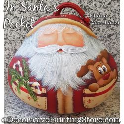 In Santas Pocket Gourd ePattern - Eliana Castellazzi - PDF DOWNLOAD