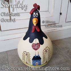 Simplify Chicken Gourd ePattern - Eliana Castellazzi - PDF DOWNLOAD