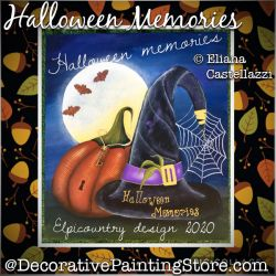 Halloween Memories Painting Pattern PDF Download - Eliana Castellazzi