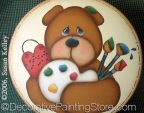 Beary Messy Artist ePacket - Susan Kelley - PDF DOWNLOAD
