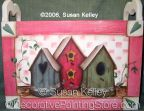 Birdhouses ePacket - Susan Kelley - PDF DOWNLOAD