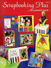Scrapbooking Plus... the painted touch 1