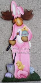 Milton the Easter Moose ePacket - Wendy Fahey - PDF DOWNLOAD