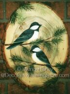 Whispering Pine Chickadees ePacket - Wendy Fahey - PDF DOWNLOAD