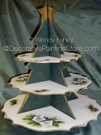 Christmas Tree Platter ePacket - Wendy Fahey - PDF DOWNLOAD