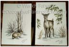 Some Bunny and Oh Deer (Pen and Ink) ePacket - Wendy Fahey - PDF DOWNLOAD