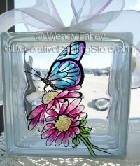 Butterfly Glass Block ePacket - Wendy Fahey - PDF DOWNLOAD