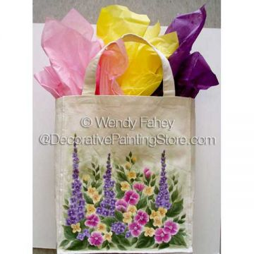 The Garden Bag (Fabric Painting) ePacket - Wendy Fahey - PDF DOWNLOAD