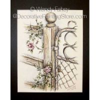 Wild Rose Gate Pen and Ink ePacket - Wendy Fahey - PDF DOWNLOAD
