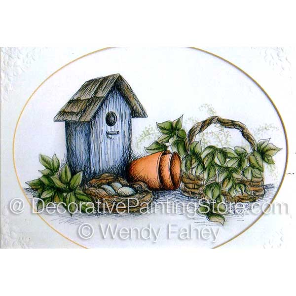Garden Roost Pen and Ink ePacket - Wendy Fahey - PDF DOWNLOAD