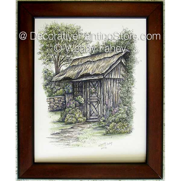 Quaint Hideaway Pen and Ink ePacket - Wendy Fahey - PDF DOWNLOAD