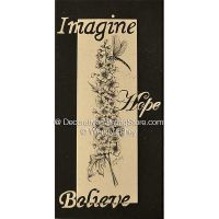 Inspiration Chocolate Delphinium and Dragonfly ePacket - Wendy Fahey - PDF DOWNLOAD