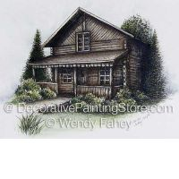Old Creighton Log Cabin ePacket - Wendy Fahey - PDF DOWNLOAD
