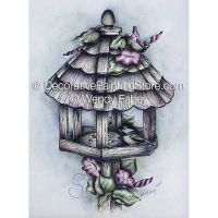 Twisted in Glory - Morning Glories - Pen and Ink ePacket - Wendy Fahey - PDF DOWNLOAD