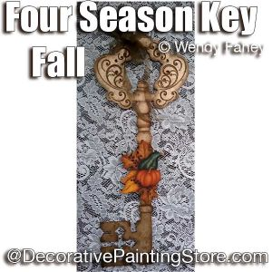 Four Season Key with Pumpkins ePacket - Wendy Fahey - PDF DOWNLOAD