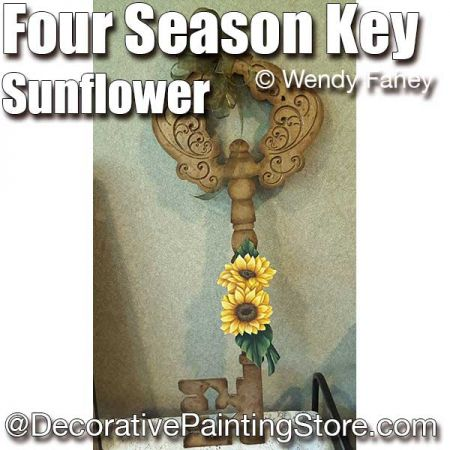 Four Season Key with Sunflower ePacket - Wendy Fahey - PDF DOWNLOAD