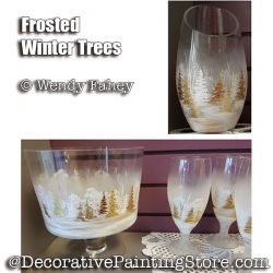 Frosted Winter Trees ePacket - Wendy Fahey - PDF DOWNLOAD