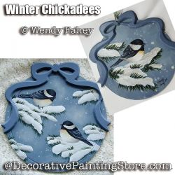 Winter Chickadees ePacket - Wendy Fahey - PDF DOWNLOAD
