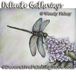 Delicate Gatherings Pen and Ink ePacket - Wendy Fahey - PDF DOWNLOAD