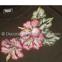 Raised Hibiscus ePacket - Wendy Fahey - PDF DOWNLOAD