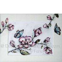 Sweet Magnolia Pen and Ink ePacket - Wendy Fahey - PDF DOWNLOAD