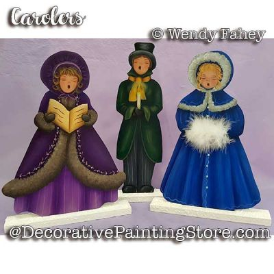 Carolers ePacket - Wendy Fahey - PDF DOWNLOAD